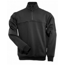 5.11 Tactical 1/4 Zip Job Shirt Black, Regular Length