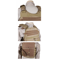 5ive Star Gear Vest BodyGuard Plate Carrier- Coyote