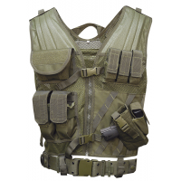 5ive Star Gear CDV-5S Cross Draw Vest- Olive Drab