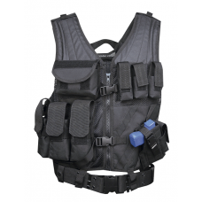 5ive Star Gear CDV-5S Cross Draw Vest- Black