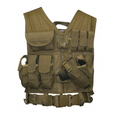 5ive Star Gear CDV-5S Cross Draw Vest- Coyote
