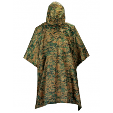 5ive Star Gear Military Ponchos Woodland Digital