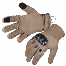 5SG Tactical Hard Knuckle Gloves- Coyote