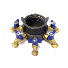 Action Coupling Bear Claw Manifold- NH (NST) x GHT