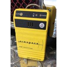 Airspace Carbon Monoxide Monitor with Visual and Audible Alarms