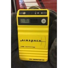 Airspace Carbon Monoxide Monitor with LED Display and Audible Alarms