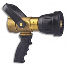 "3019 Akron 1.5"" Brass Fog Nozzle with Pistol Grip"