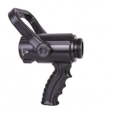 "2127 Akron 1.5"" x 1.5"" Shutoff with Pistol Grip and Nozzle Color Clip Kit"