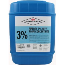AMEREX 3% AFFF Foam Concentrate- 5 gallon pail