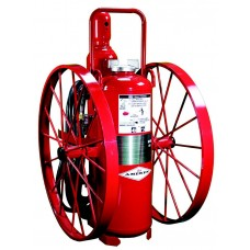 Amerex Dry Chemical Wheeled Fire Extinguishers- Regulated
