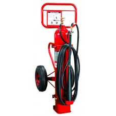 Amerex Carbon Dioxide Wheeled Fire Extinguishers
