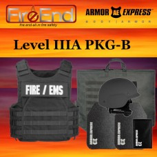Armor Express Level IIIA and III + SA Package B (carrier, soft armor, rifle plates, trauma pack, first responder bag, ballistic helmet without face shield)