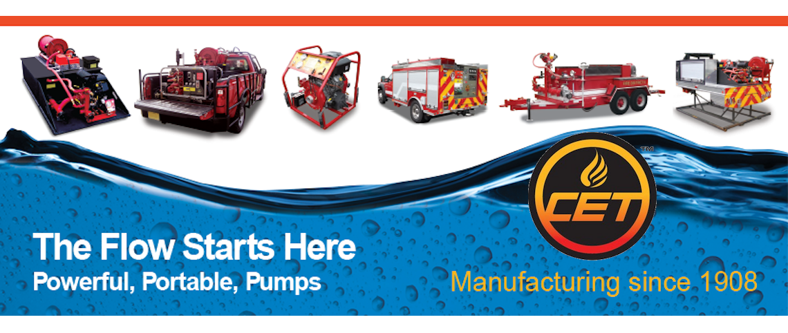 CET fire pumps