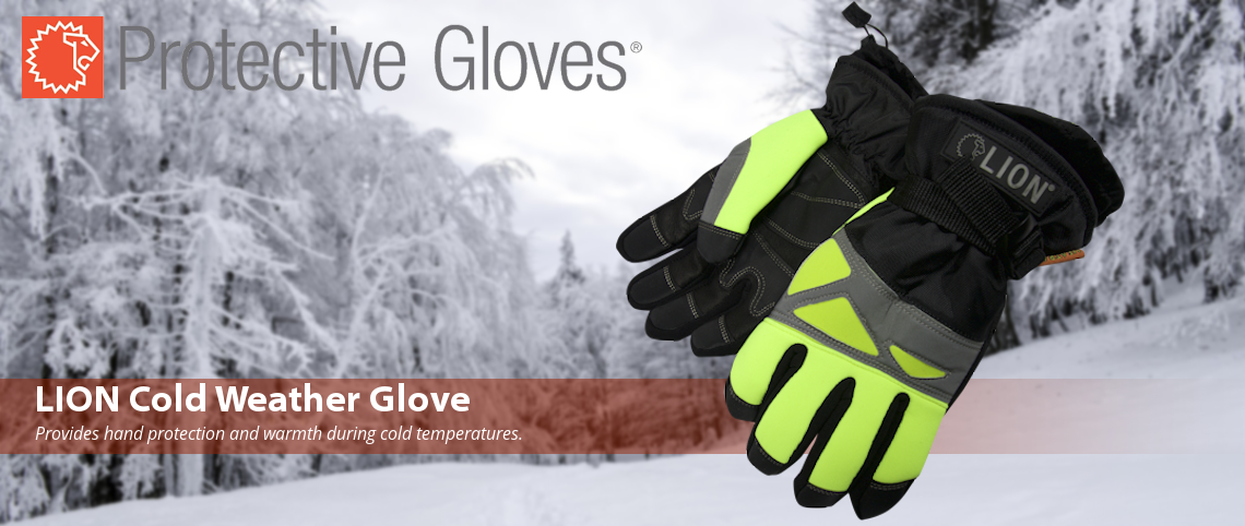 Lion-cold-weather-gloves