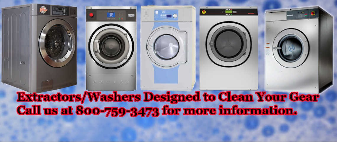 Washers and Turnout Extractors