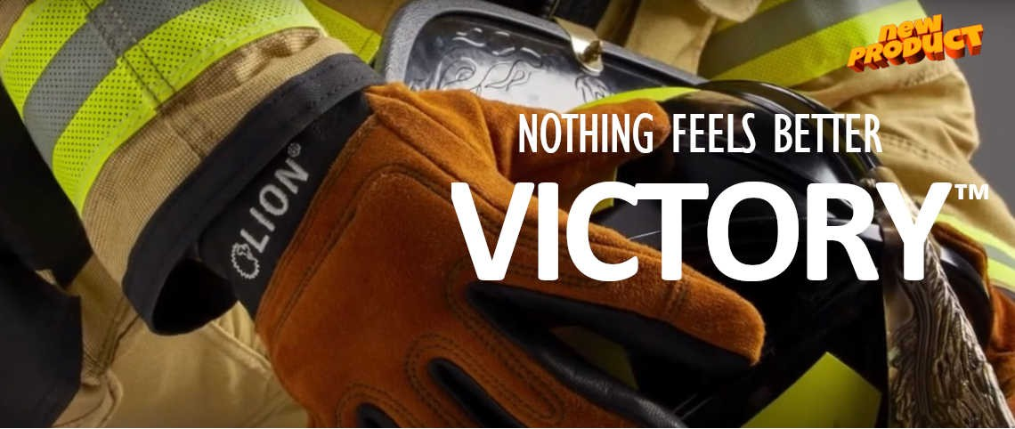 LION Victory Structural Fire Gloves