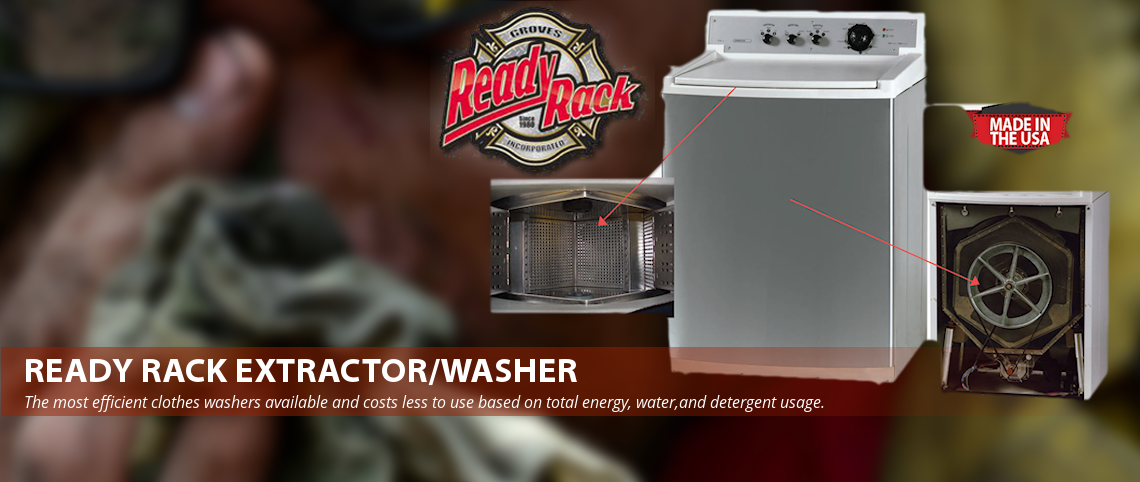 Ready Rack extractor-Washer