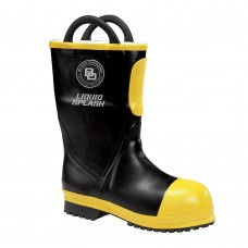 "Black Diamond 11"" Insulated Short Rubber Fire  Boots"