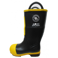 "Black Diamond 16"" Insulated Rubber Fire  Boots"