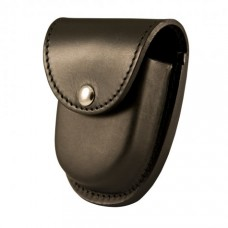 Boston Leather XL Rounded Cuff Case, Slot Back, Plain