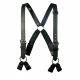 Boston Leather Firefighter's Leather Suspenders 8-Point Loop