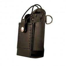 Fire-End Boston Leather Radio Holder Triple Play- Reflective