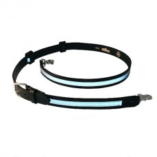 "Boston Leather Reflective Radio Strap, 8"" Longer"