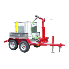 CET Single Tote Foam Trailer