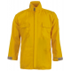 CrewBoss Brush Shirt — 5.8 oz Tecasafe Plus Yellow