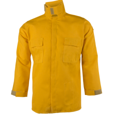 CrewBoss Brush Shirt — 6.0 oz Nomex Yellow