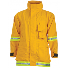 CrewBoss Interface Coat- 6.0 oz Nomex Yellow