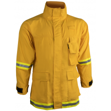 CrewBoss Interface Coat- 7.0 oz Tecasafe Plus Yellow
