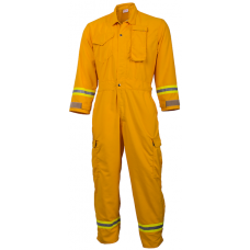 CrewBoss Premium Jumpsuits  7.0 oz Tecasafe Plus Yellow