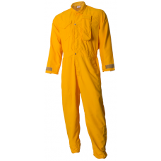 CrewBoss Standard Jumpsuits  7.0 oz Tecasafe Plus Yellow