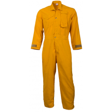 CrewBoss Standard Jumpsuits  6.0 oz Nomex Yellow
