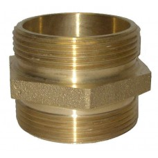 Croker Cast Brass Double Male Hex Adapter