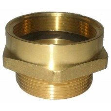 Croker Cast Brass Female x Male Hex Adapter