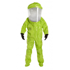 DuPont Tychem TK587S Training Suits Expanded Back Rear Entry