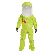 DuPont Tychem TK586S Training Suits- Expanded Back Front Entry with Serged Seams
