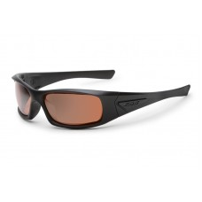 ESS 5B Black Frame Mirrored Copper Lenses Sunglasses