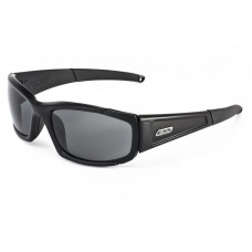 ESS CDI Black with Interchangeable Clear and Smoked Gray Lens Sunglasses