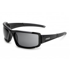 ESS CDI Max Black with Interchangeable Clear and Smoked Gray Lens Sunglasses