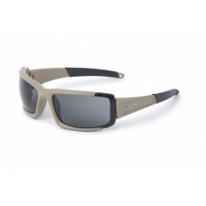 ESS CDI Max Terrain Tan with Interchangeable Clear and Smoked Gray Lens Sunglasses