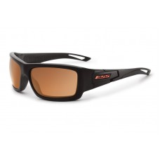ESS Credence Black Frame Mirrored Copper Lenses Sunglasses