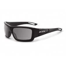 ESS Credence Black Frame Smoke Gray Lenses Sunglasses