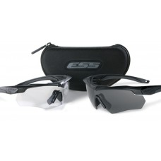 ESS Crossbow Black Frame 2X Kit  with Two pairs of Sunglasses