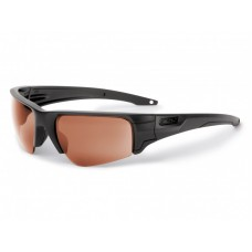 ESS Crowbar Tactical 3-Lens Sunglasses - Clear, Smoked Gray and Mirrored Copper - Subdued Logo