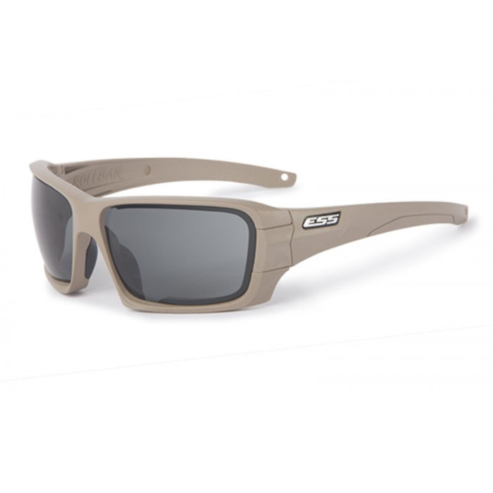 456b2ba8b31c ESS Rollbar Terrain Tan with Interchangeable Clear and Smoked Gray Lens  Sunglasses