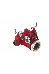 Elkhart  9843 Elk-O-Lite Water Thief with Gate Valves -   Storz x (2) 2.5 MNH x  Storz