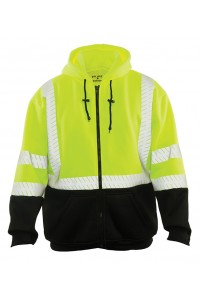 Game Sportswear 865E The Econo Hoodie with Segmented Reflective Tape
